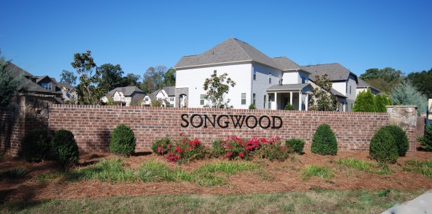 Songwood new home
