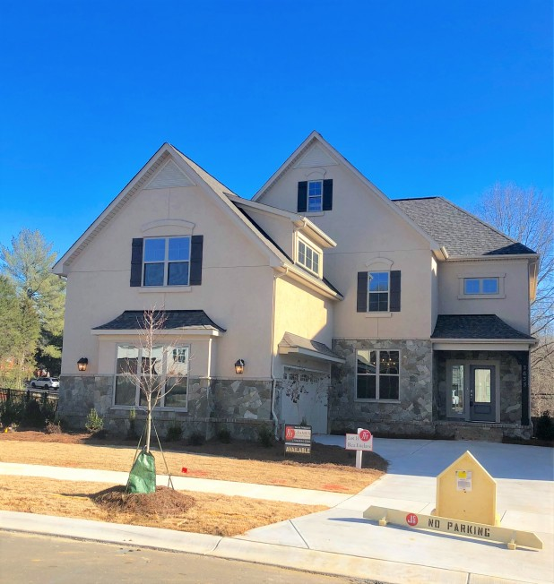 New home in South Charlotte